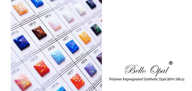 Bello Opal Color Chart A Cut Sanwa Pearl Gems Ltd
