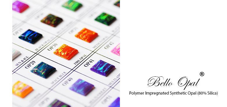 Bello Opal Color Chart B Cut Sanwa Pearl Gems Ltd