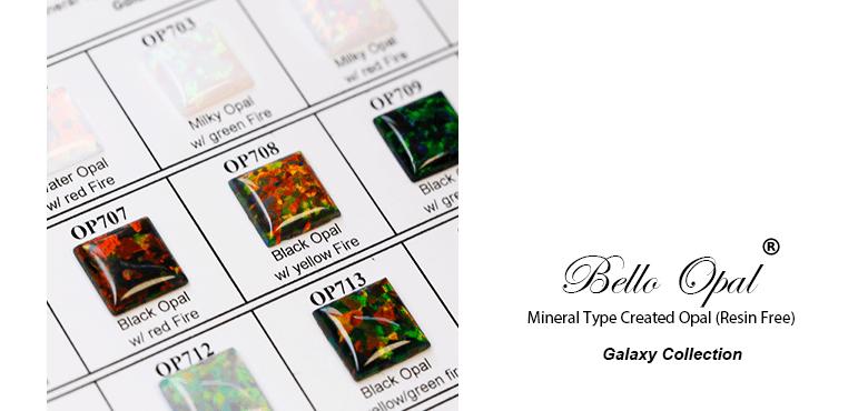 Bello Opal Galaxyresin Free Color Chart A Cut Sanwa Pearl